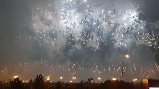 Фестиваль фейерверков в Москве 17.08.2019 Пакистан