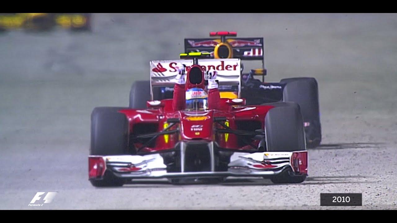 Your Favourite Singapore Grand Prix - 2010 Alonso Fends Off Vettel