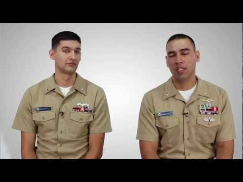 America's Navy - Enlisted Vs. Officer
