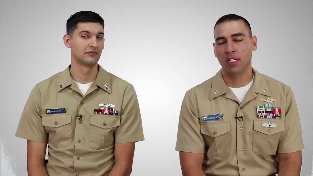 America's Navy - Enlisted vs  Officer
