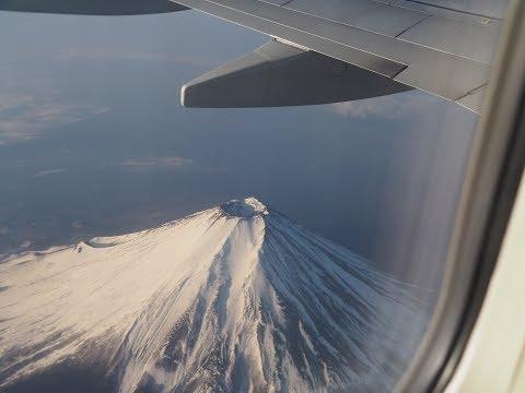 2018年2月24日,全日空411便 B737 羽田ー神戸 機窓左側 ノーカット