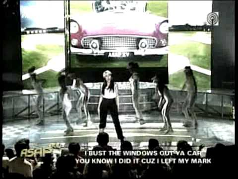 Asapxv Sep12 Sarah Geronimo Windows Out Your Car Wmv Youtube
