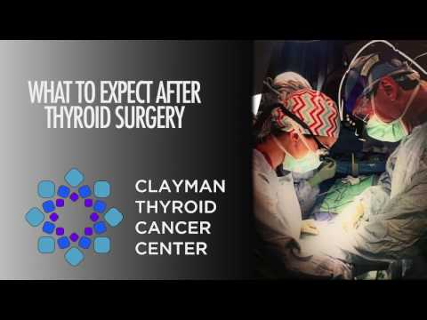 What To Expect After Thyroid Surgery