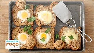 Baked Bull's-Eye Eggs - Everyday Food with Sarah Carey
