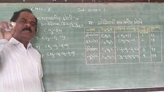 homologues series | Chapter Carbon Compounds | 10 th class | SSC Board Pune | in Marathi