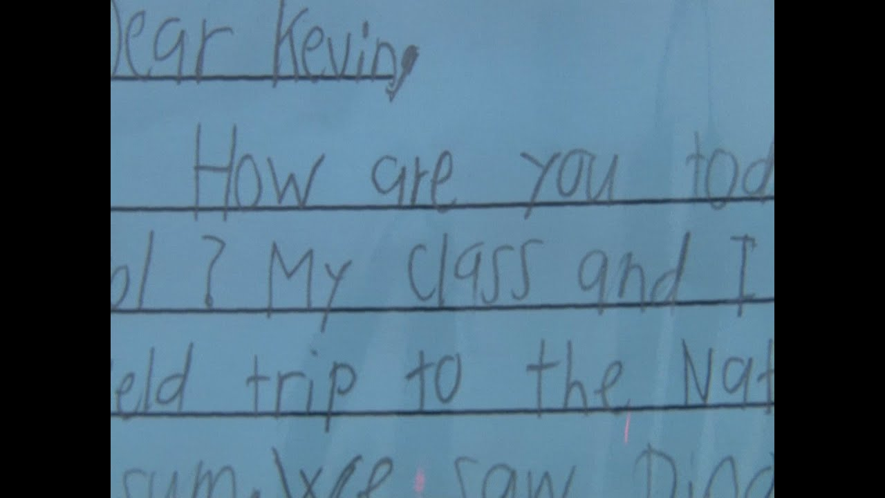 LETTER WRITING: U S  Postal Service Inspires Kids to Write