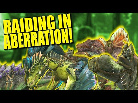 RAIDING IN ABERRATION! (Pvp) -Ark : Aberration - ep.5