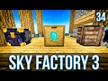 AUTOMATING DEMONIC WILL | SKY FACTORY 3 | EPISODE 34