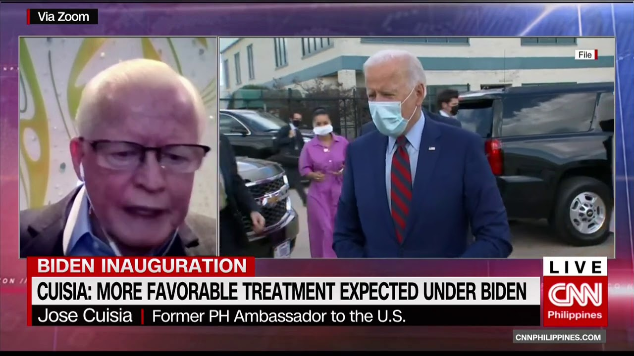 PH-US relations under the Biden administration