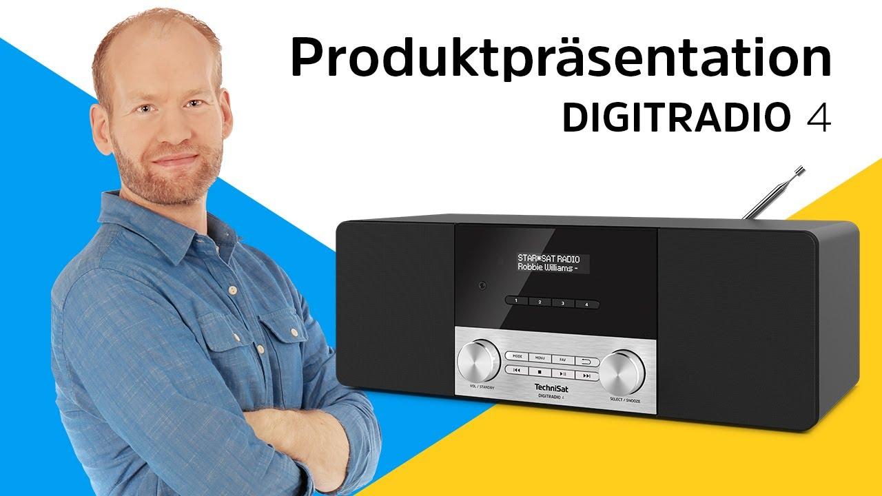 Video: DIGITRADIO 4   Digitalradio in Perfektion, Made in Germany   TechniSat