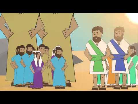 Bible Theater: Numbers - 12 Spies in Canaan - LifeKids.tv