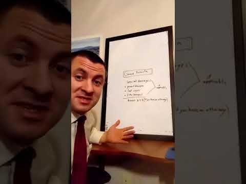 Los Angeles car accident Lawyer James Doyle explains the auto accident settlement formula