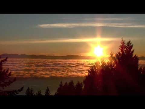 Awake, by Josh Groban - Full Sunset over the Pacific Ocean HD