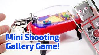 1998 POCKET SHOT SHOOTING GALLERY Arcade Game working miniature by Basic Fun
