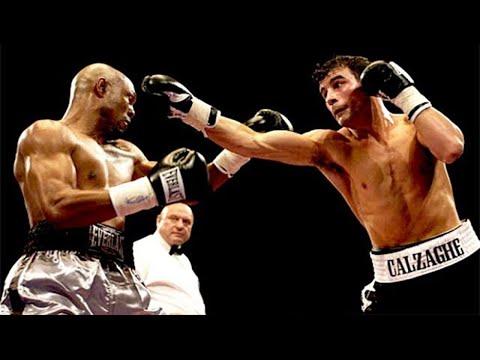 Joe Calzaghe Vs Byron Mitchell Highlights Super Middleweight Slugfest Youtube