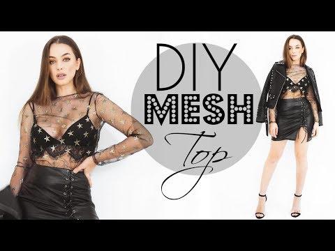 HOW TO MAKE A MESH TOP - Easy  | Tijana Arsenijevic