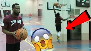 Repeat youtube video CAN 5'10 CASH NASTY DUNK?