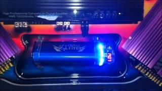 Usina spark 300A Roadstar 1600D 4 subwoofer pioneer 308D2