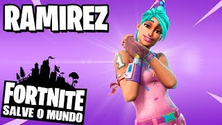 Fortnite-HOW à GET RAMIREZ IN THE SAVE the WORLD