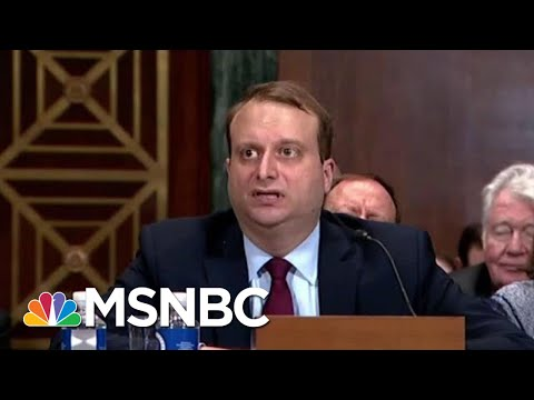 Trump's Latest 'Doozie' Judge Nominee Struggles At Confirmation   Rachel Maddow   MSNBC