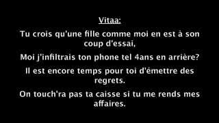 Vitaa feat Maître Gims Game Over (Paroles) (HD)