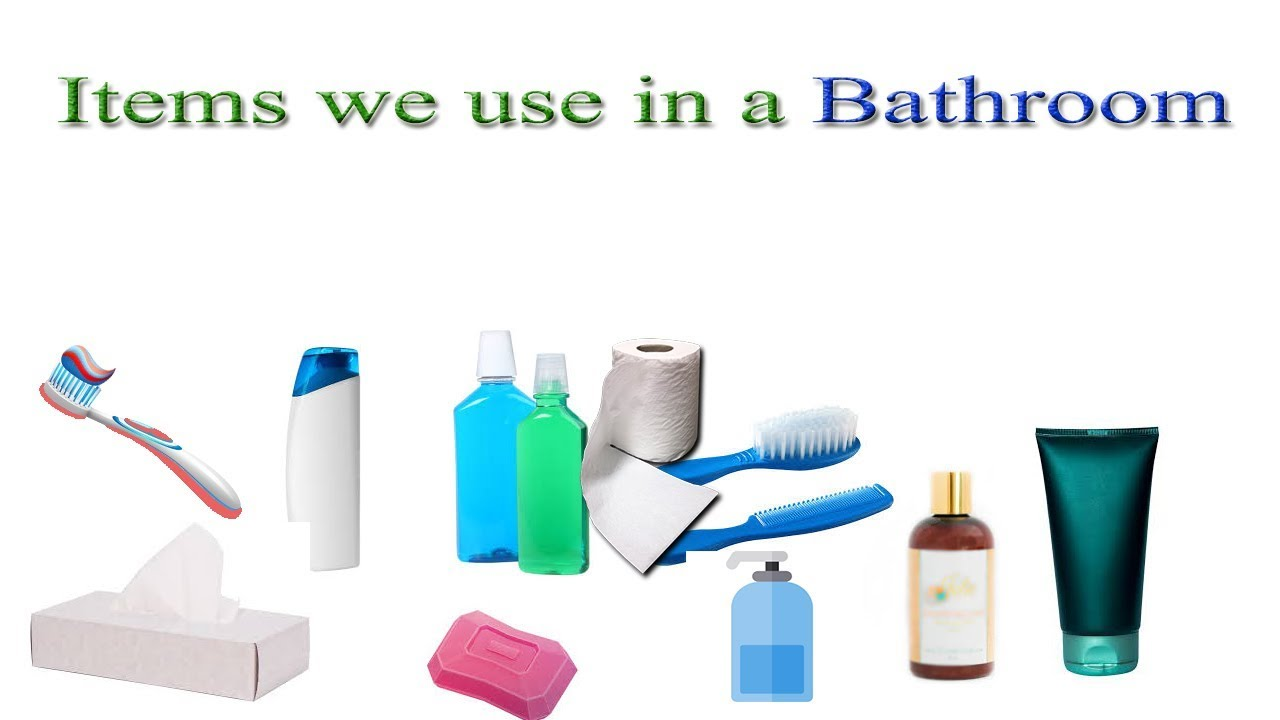 Bathroom Items Names In English Vocabulary With Images