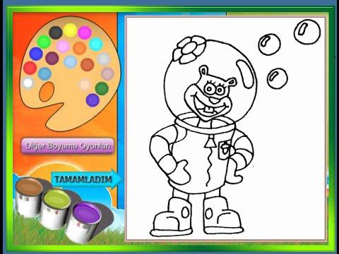 spongebob coloring pages for kids spongebob coloring pages