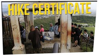 Man Fined for Illegally Selling Certificates to Hikers ft. Boze & DavidSoComedy