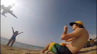 Тайланд Пхукет Thailand Phuket Золотой майбах golden Mercedes Maybach Свинья на пляже
