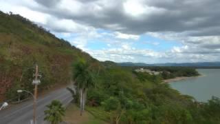 Vista de la costa de Añasco,Puerto Rico