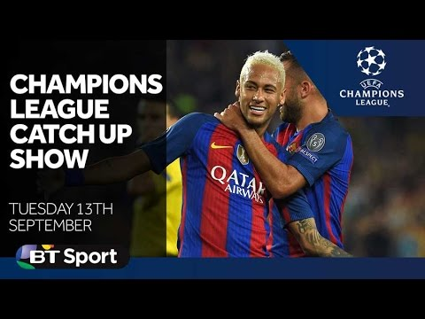 Champions League Catch Up Show | Goals and highlights | Sept 13th 2016