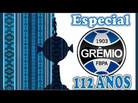 Grêmio Foot-Ball Porto Alegrense - ESPECIAL de 112 anos !!!