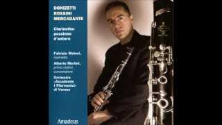 2/2 Theme (Allegretto) - Introduction, Theme and Variations for Clarinet - Gioachino Rossini