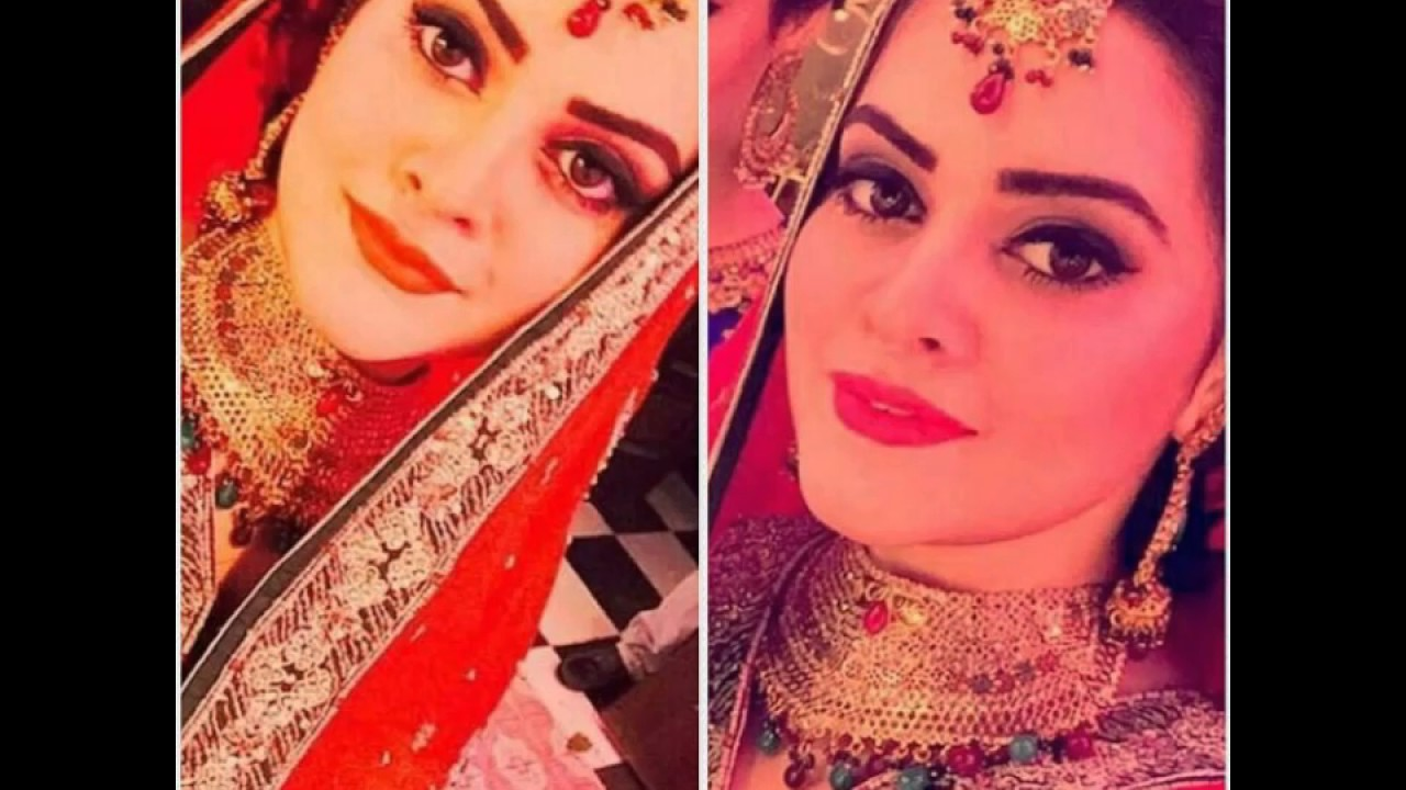 Beautiful Aiman Khan Wedding Day Pictures