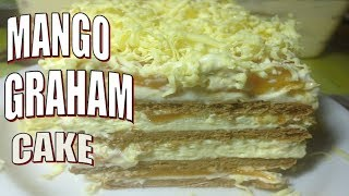 Mango and Cheese Graham cake Kitchen Channel