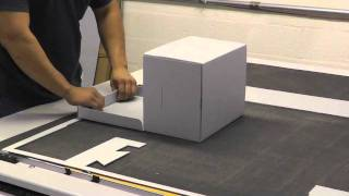 Making Custom Archival Boxes on the Zund G3 Digital Cutter