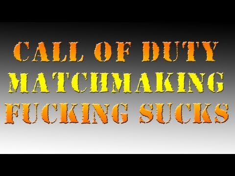 COD MW3 - CoD Matchmaking Fucking Sucks