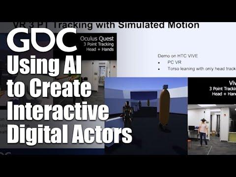 Using AI to Create Interactive Digital Actors