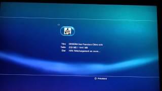 Vitesse de téléchargement sur PS3 en heure de gros trafic