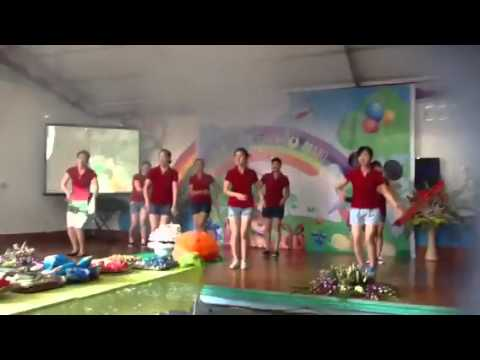 vũ điệu rửa tay của các cô trường mầm non sao việt