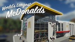 WORLDS LARGEST McDONALDS - Feat. Pizza