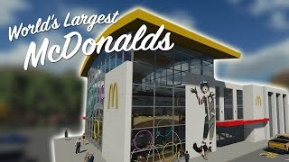 Repeat youtube video WORLDS LARGEST McDONALDS - Feat. Pizza