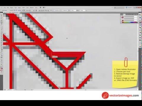Online Paper to cad conversion service   Vectorize images