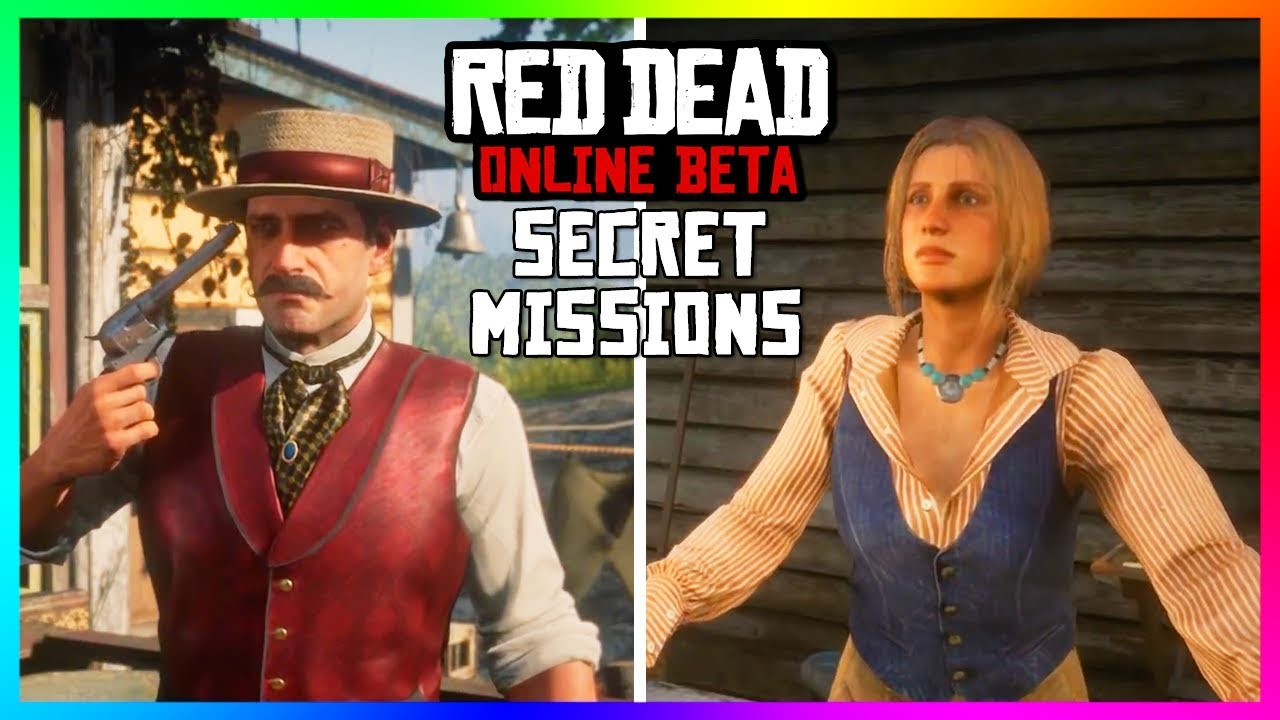 10 SECRET Characters That You Didn't Know You Could Meet In Red Dead  Online! (RDR2 SECRET Missions) by MrBossFTW
