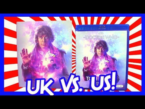 Doctor Who The Collection Season 18 Review (UK Vs. US Versions)