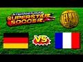 Germany vs France - International Superstar Soccer Deluxe - Sega Genesis / Mega Drive HD