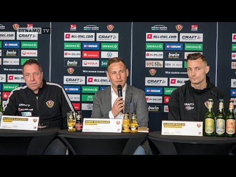 19. Spieltag | SGD - KSC | Pressekonferenz vor dem Spiel