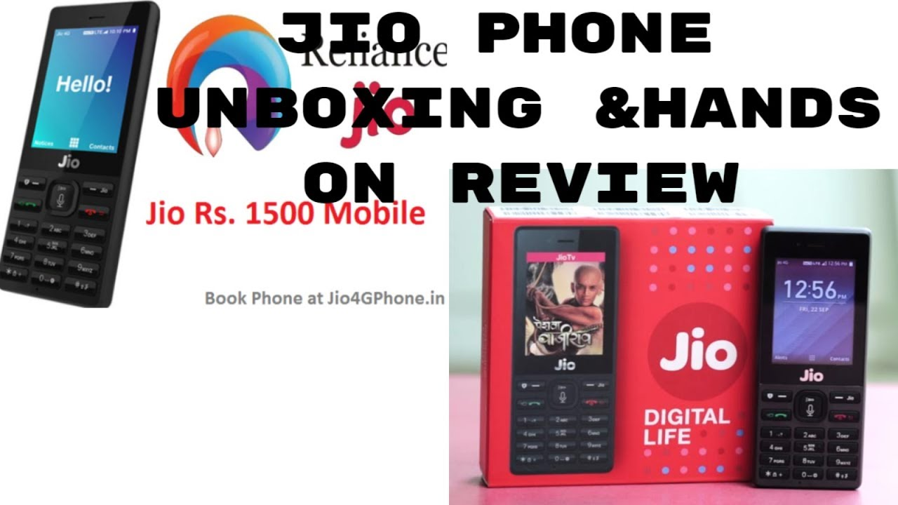 UNBOXING JIO PHONE | CAMERA & HANDS ON REVIEW | HIFI TECH