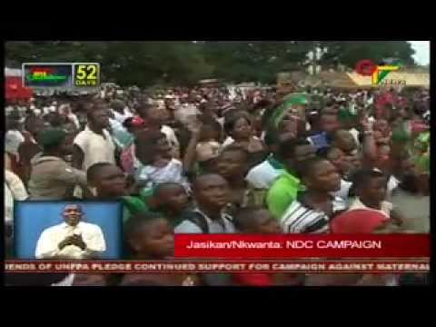 Jasikan: NDC Campaign