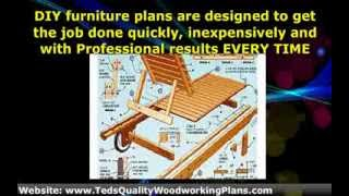 ★ Diy Wood Furniture Making Plans - Woodworking Designs